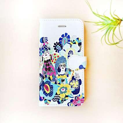 手帳型スマホケース / 三姉妹の商品写真