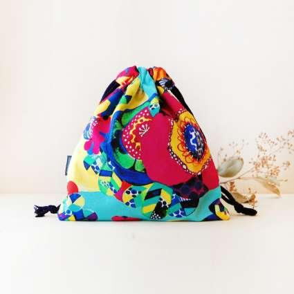 巾着袋square / フロリアンの商品写真