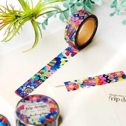 fripdesignマスキングテープ ver.2の商品写真